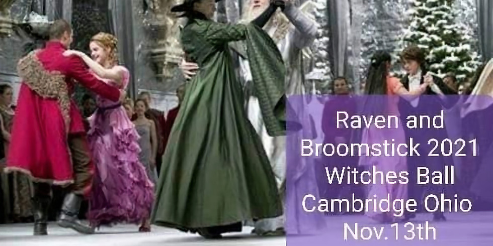 Raven and Broomstick 2021 Witches Ball