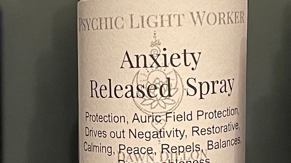 Anxiety Released Elemental Spray