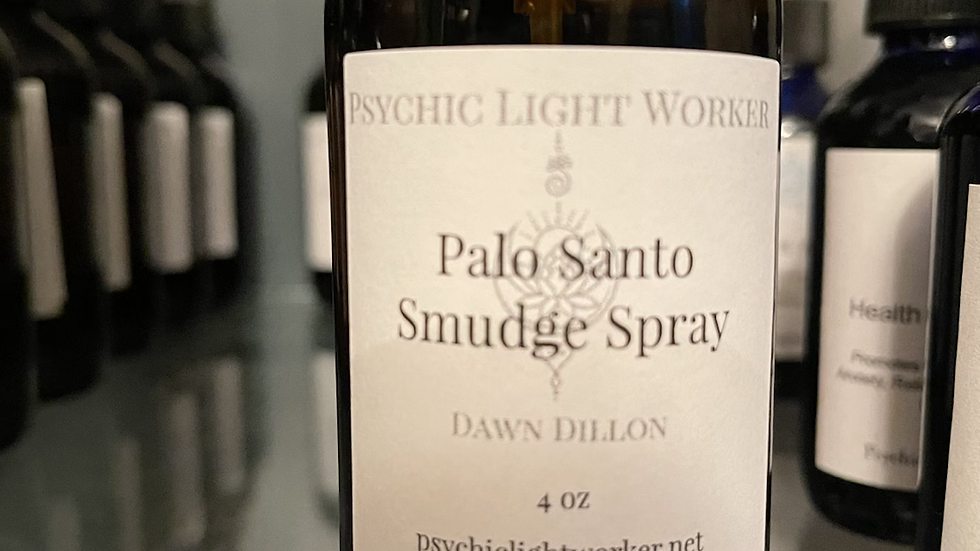 Palo Santo Smudge Spray 4oz