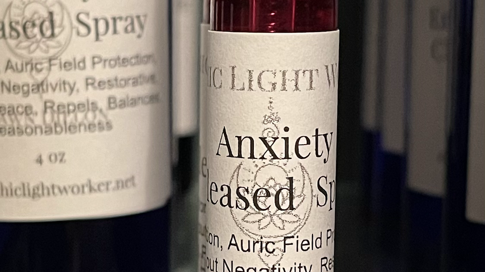 Anxiety released 10ml spray