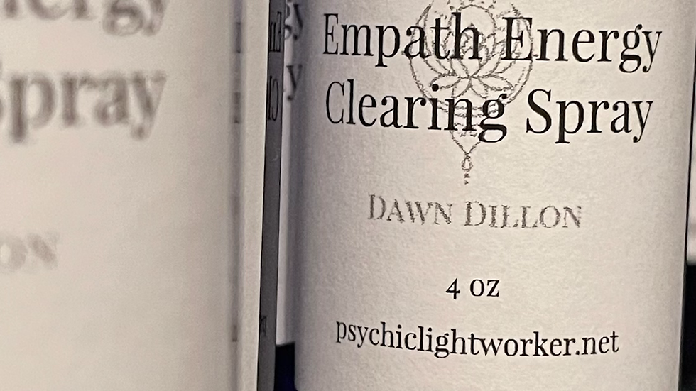 Empath Energy Clearing Spray