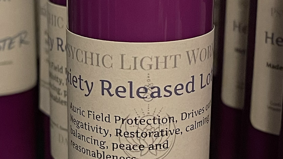Anxiety Released Lotion