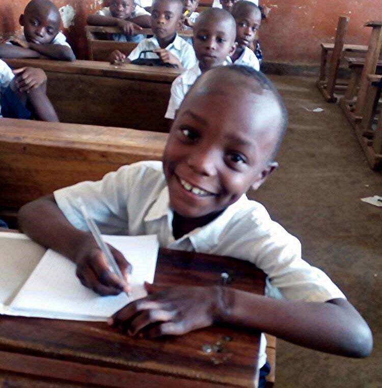 Glad skoleelev