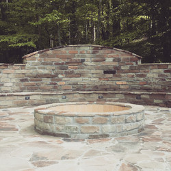 Fire Pit Lake Cypress