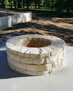 Austin Stone Firepit