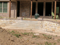 Retaining wall , Sulphur Springs