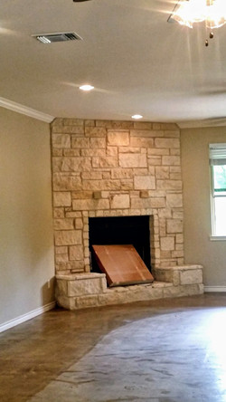 Austin Stone Fireplace Winnsboro
