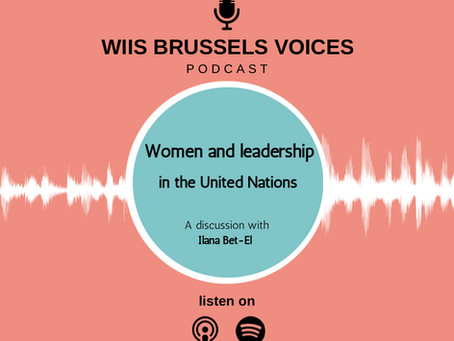 Women and Leadership in the United Nations: A discussion with Ilana Bet-El