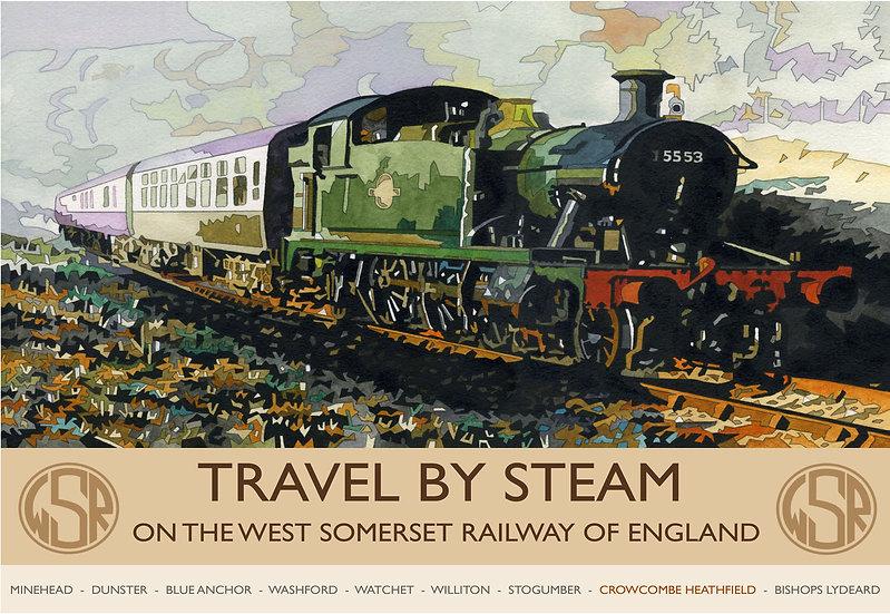 West Somerset Railway 2, Somerset Print