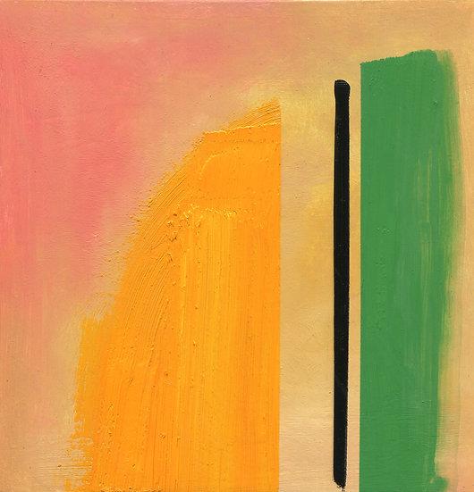 Divide, Original Oil Painting