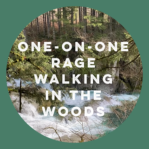 One-On-One Rage Walking In The Woods