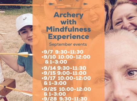 Archery With Mindfulness