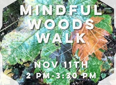 Mindful Woods Walk