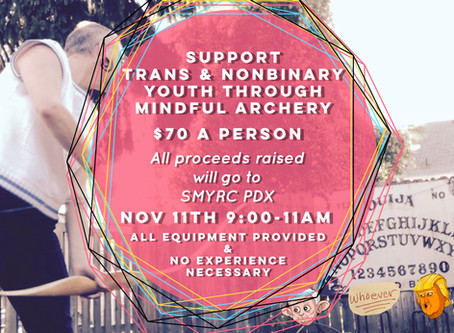 Archery Fundraiser For Trans & Nonbinary Youth