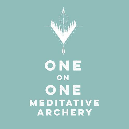 One On One Meditative Archery Workshop