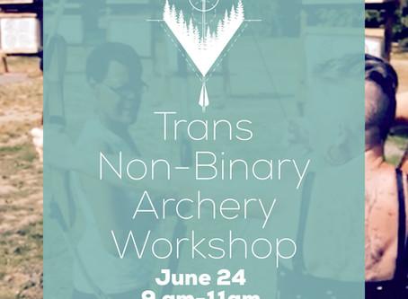 Trans Non-Binary Archery Workshop