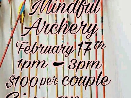 Couples Valentine Archery