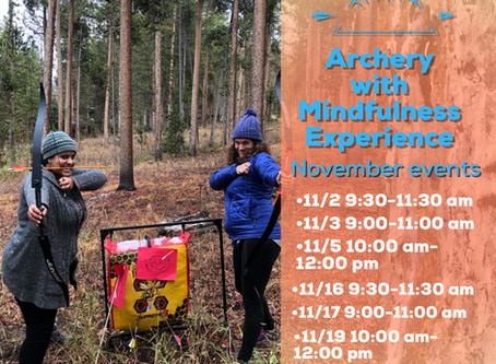 Nov,Archery WithMindfulness
