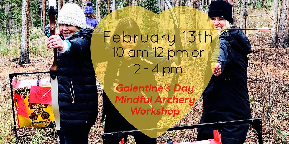 Galentine's Day Mindful Archery