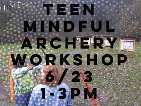 Teen Archery Workshop