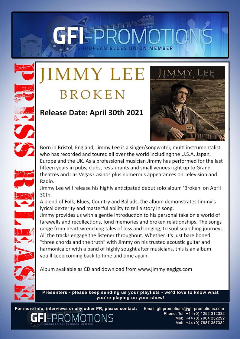 Jimmy Lee - Broken