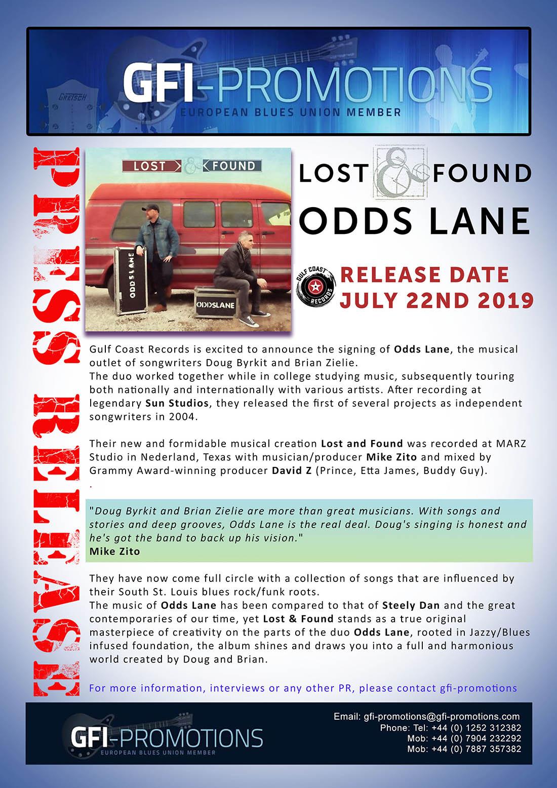 Odds Lane