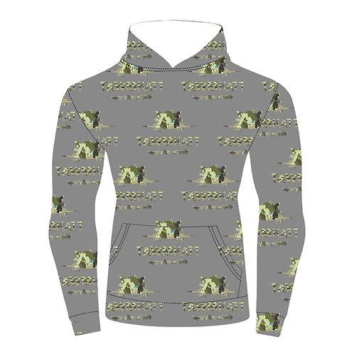 KAMO KATT Hoodie Grey Multi Pattern (COMING SOON!)