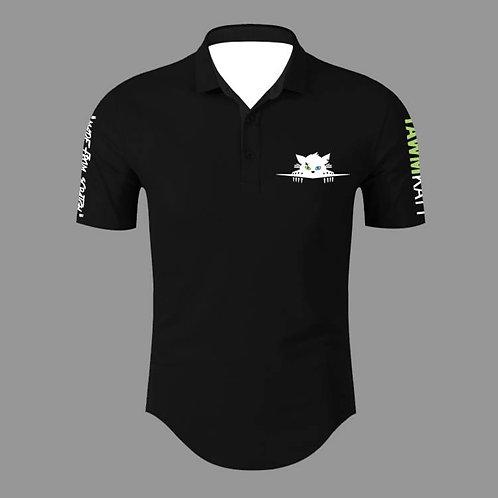 TAWMKATT Short Sleeve Golf Shirt Black (COMING SOON!)