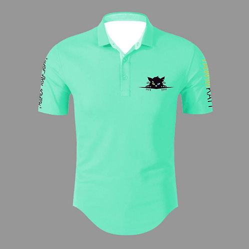 TAWMKATT Short Sleeve Golf Shirt Turquoise (COMING SOON!)