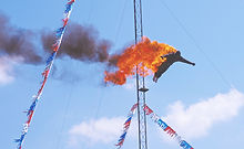 Fire Dive Stunt