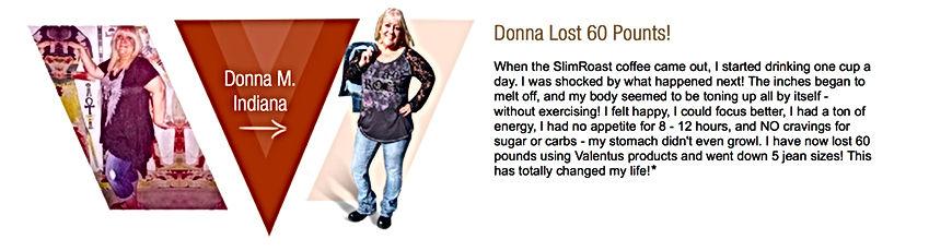 Donna Murray Weight Loss Testimonial