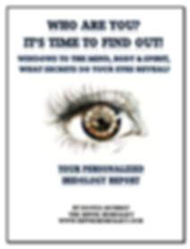 Iridology Assessment Booklet photo