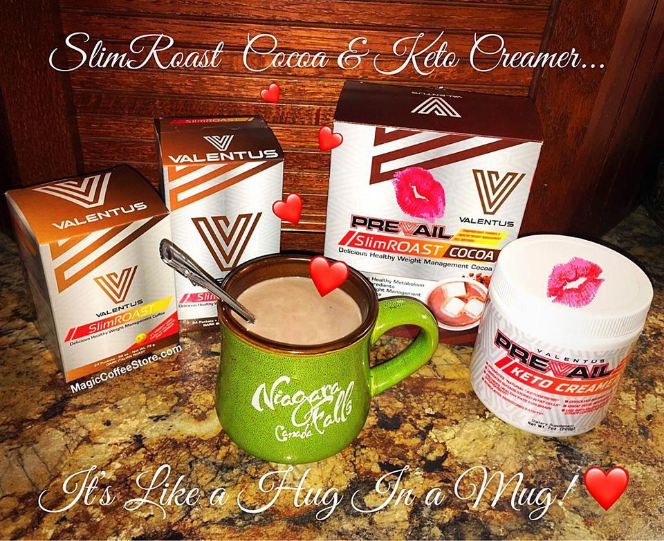 SlimRoast Coffee, Cocoa and Keto Creamer