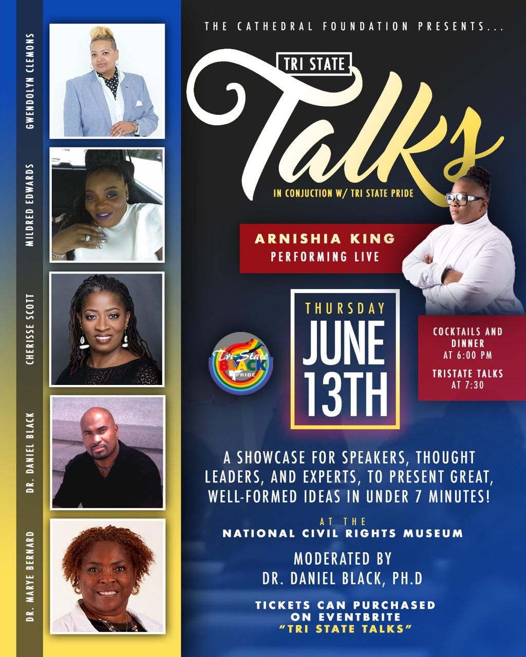 New Tristate Talk Flyer