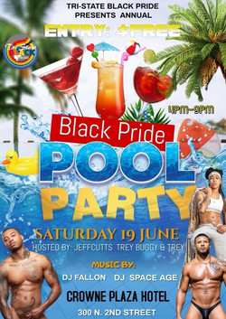 nEW pOOL PARTY FLYER