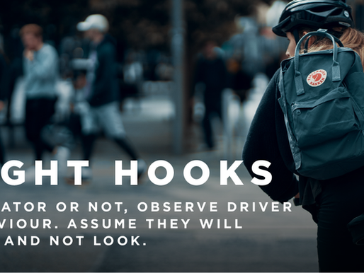 Cycling & The  Dreaded Right Hook