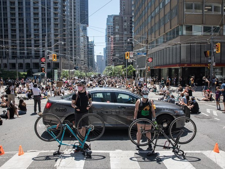 CYCLISTS MUST JOIN CALL TO DEFUND POLICE