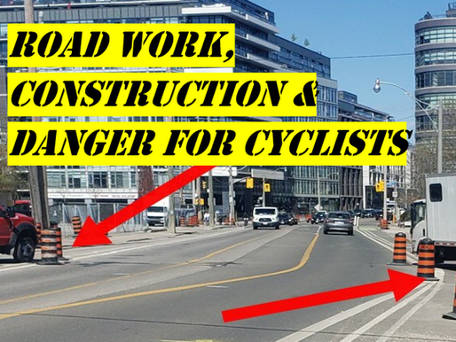 Construction vs Bikes – A Cyclist's Guide to Navigating Dangerous Road Work