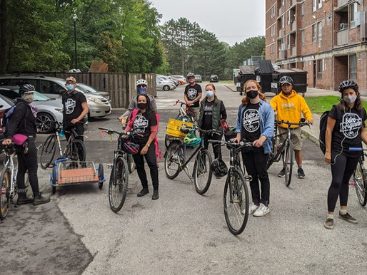 The Bike Brigade: 1 year of Radical Cycling