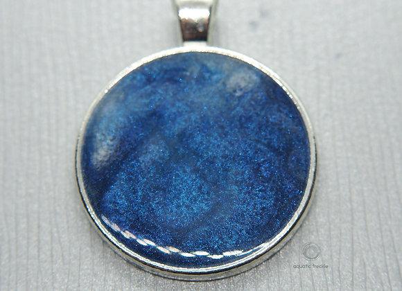 Deep blue sea pendant