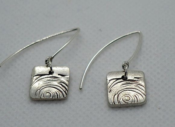 Choppy seas earrings