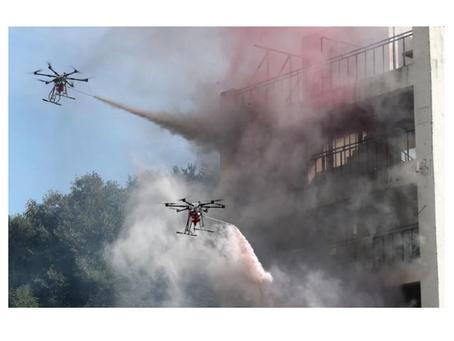 드론전망 / 접근 어려운 산불·고층건물 화재… '소방 드론'이 잡는다_한국일보 발췌