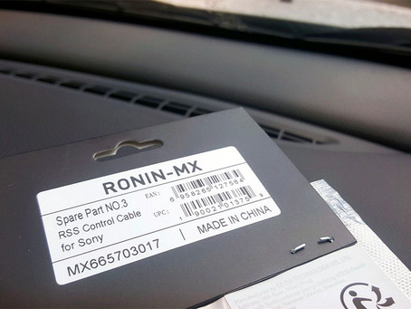 Ronin-MX - Remote Start/Stop, RSS Control Cable for Sony