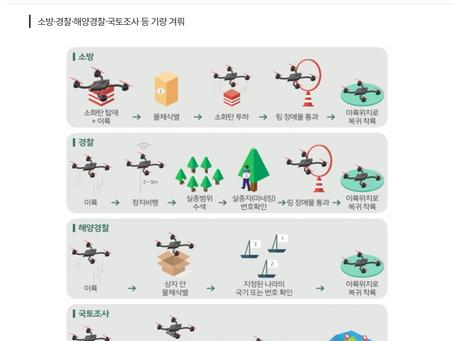 드론전망 / 교통안전공단, 제1회 공공분야 드론조종 경진대회 개최_국토일보 발췌