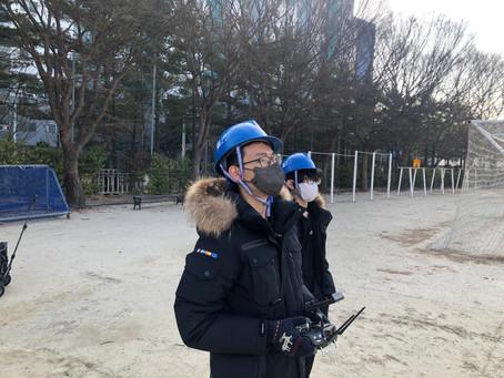 대전공업고 드론자격증 실기교육_드론미디어 무인항공교육원_210223