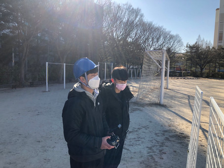 대전드론학원 '드론미디어' 대전공업고 실기교육_210209