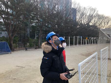 대전드론학원 '드론미디어' / 대전공고 드론자격증 실기교육_210222
