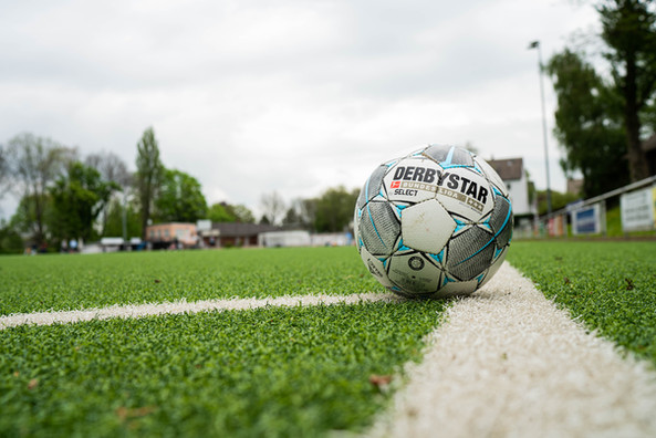 Ball auf Spielfeld