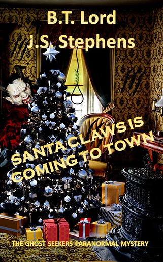 SANTA CLAWS IS COMING TO TOWN COVER JPG.