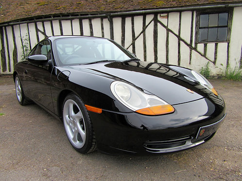 Porsche 996 Carrera Manual - SOLD